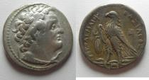 Ancient Coins - Egypt. Ptolemaic kings.Ptolemy II Philadelphos (285-246 BC). AR tetradrachm (27mm, 13.73g). Alexandria mint. Struck c. 285-261/0 BC.