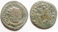 Ancient Coins - DIOCLETIAN AE ANTONINIANUS