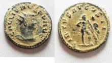 Ancient Coins - AS FOUND. ORIGINAL DESERT PATINA GALLIENUS AE ANTONINIANUS