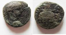 Ancient Coins - judaea. samaria. neapolis. mt. gerzim AE 19