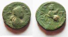 Ancient Coins - Judaea. Raphia under Gordian III (AD 238-244). AE 22mm, 7.99g. Struck in civic year 300 (AD 240/1).