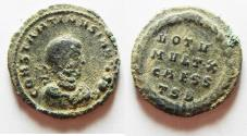 Ancient Coins - BEAUTIFUL AS FOUND CONSTANTINE II AE 3