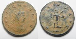 Ancient Coins - BEAUTIFUL AS FOUND ANTONINIANUS OF GALLIENUS