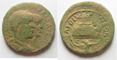 Ancient Coins -  Samaria. Neapolis under Philip I and Philip II (AD 247-249). AE 27mm, 11.69g.