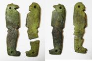 Ancient Coins - ANCIENT EGYPT, TWO SONS OF HORUS AMULETS. 600 - 300 B.C