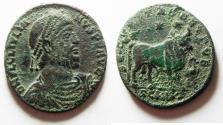 Ancient Coins - AS FOUND: Julian II Double Maiorina AE1. Cyzicus Mint. 360 - 363 C.E.