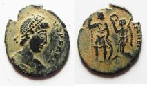 Ancient Coins - VALENS AE 3 . ATTRACTIVE