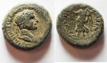 Ancient Coins -  Judaea. Caesarea Maritima under Trajan (AD 98-117). AE 22