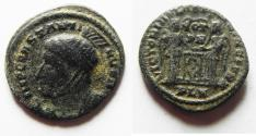Ancient Coins - CONSTANTINE I AE 3 . NICE QUALITY