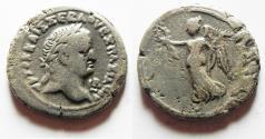 Ancient Coins - EGYPT. ALEXANDRIA . VESPASIAN BILLON TETRADARCHM
