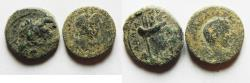 Ancient Coins - LOT OF 2 PROVINCIALS FROM THE DECAPOLIS