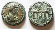 Ancient Coins - AN EXAMPLE OF STUNNING QUALITY: Decapolis. Capitolias. Septimius Severus. AD 193-211. Æ 34. Dated CY 108 (AD 204/5).