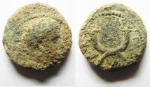 Ancient Coins - DECAPOLIS. GADARA. TITUS AE 17, WITH CROSS