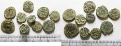 Ancient Coins - LOT OF 10 ANCIENT BRONZE ISLAMIC COINS