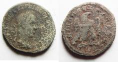 Ancient Coins - NICE AS FOUND: ANTIOCH. TRAJAN DECIUS BILLON TETRADRACHM