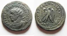 Ancient Coins - ANTIOCH. PHILIP I BILLON TETRADRACHM. AS FOUND