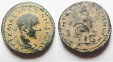 Ancient Coins - Mesopotamia. Edessa under Severus Alexander (AD 222-235). AE 20mm, 6.03g. RARE!
