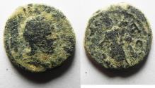 Ancient Coins - Phoenicia, Ake-Ptolemais. JUDAEA. JULIA DOMNA AE 16