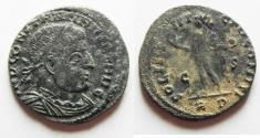 Ancient Coins - AS FOUND CONSTANTINE I AE FOLLIS