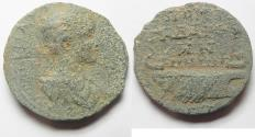 Ancient Coins - DECAPOLIS. GADARA. GORDIAN III AE 26. GALLEY