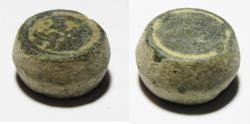Ancient Coins - ANCIENT ISLAMIC UMMAYED BRONZE WEIGHT. 2 MITQALS