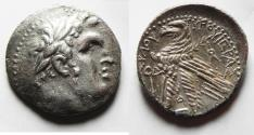 Ancient Coins - 30 PIECES OF SILVER: PHOENICIA, Tyre. 126/5 BC-AD 65/6. AR Shekel . Dated CY 74 (53/2 BC).