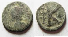 Ancient Coins - BYZANTINE HALF AE FOLLIS