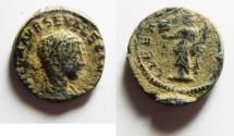 Ancient Coins - AS FOUND. SEVERUS ALEXANDER SILVER DENARIUS