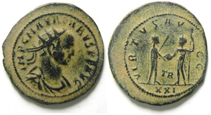 Ancient Coins - Aurelian Antoninianus  , VERY NICE