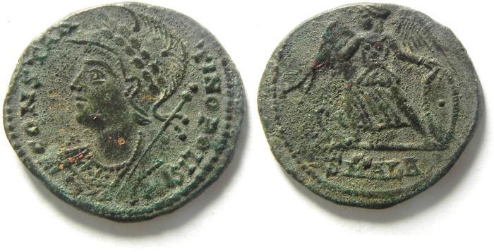 Ancient Coins - CONSTANTINE I AE 3 , ALEXANDRIA , CITY COMMEMORTIVE