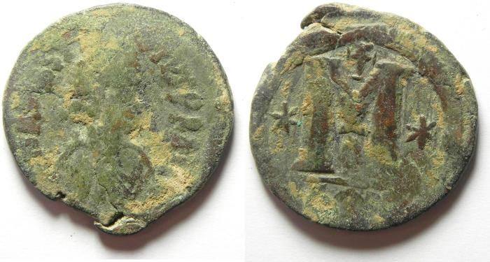 Ancient Coins - BYZANTINE , ANASTASIUS AE FOLLIS , AS FOUND