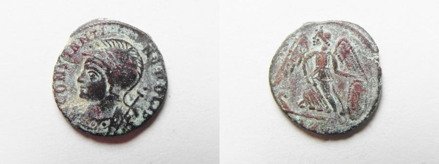 Ancient Coins - CONSTANTINE I COMMEMORATIVE AE 3
