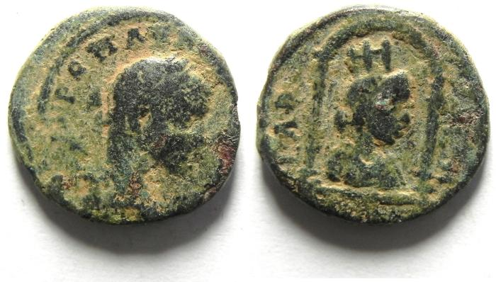 Ancient Coins - Roman Provincial. AE. Syria. Seleucis and Pieria. Seleucia in Pieria. Under Elagabalus (AD 218-222).