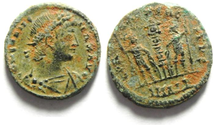Ancient Coins - CONSTANTINE II AE 3 , BEAUTIFULL & HIGH QUALITY, NEEDS SOME CLEANING