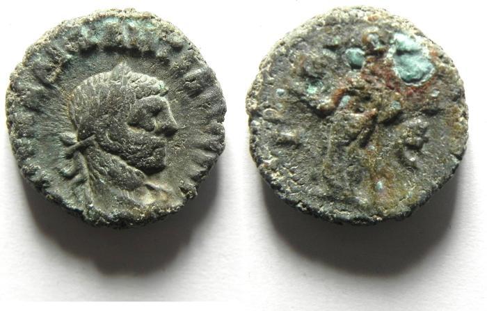 Ancient Coins - EGYPT , ALEXANDRIA POTIN TETRADRACHM - DIOCLETIAN