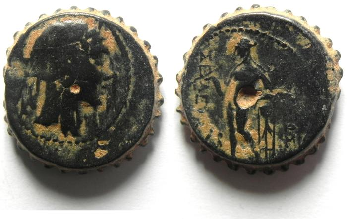 Ancient Coins - Seleukid Kingdom. Seleukos IV Philopator. 187-175 B.C. Æ.