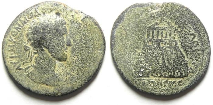 Ancient Coins - Roman Provincial . Syria. Decapolis. Pella. Under Commodus (AD 177-192). AE Medallion. One of the most important Medallions of the Decapolis, Exteremly rare!!!!!!