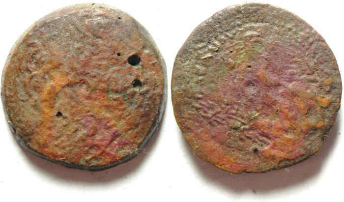 Ancient Coins - PTOLEMAIC KINGDOM AE 36 , 35.10 GM