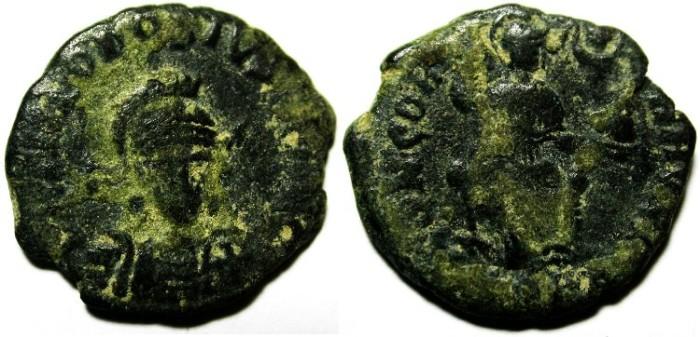 Ancient Coins - THEODOSIUS AE 3