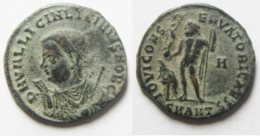 Ancient Coins - LICINIUS II AE 3 , ANTIOCH MINT