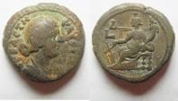 Ancient Coins - EGYPT , ALEXANDRIA , FAUSTINA II BILLON TETRADRACHM