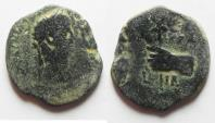Ancient Coins - UNRECORDED: Egypt. Alexandria under Claudius (AD 41-54). AE 20mm, 3.62g. Struck in regnal year 11 (AD 50/1).