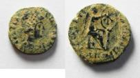 Ancient Coins - ORIGINAL DESERT PATINA: Aelia Flacilla, wife of Theodosius, 383-386 AD, AE 4. ANTIOCH MINT