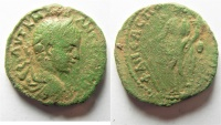 Ancient Coins - Samaria. Neapolis under Elagabalus (AD 218-222). AE 22mm, 7.47g.