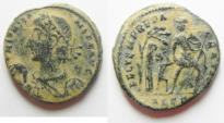Ancient Coins - CONSTANS AE CENT. ALEXANDRIA MINT. AS FOUND