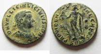 Ancient Coins - LICINIUS II AE 3 . NICE DESERT PATINA