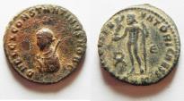 Ancient Coins - CONSTANTINE II AE 3 . SCARACE ALEXANDRIA MINT