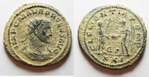 Ancient Coins - ORIGINAL DESERT PATINA:PROBUS AE ANTONINIANUS