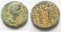 Ancient Coins - Decapolis. Nysa-Scythopolis under Julia Domna (AD 196-211). AE 23mm, 8.55g. Struck in civic year 270 (AD 206/7).