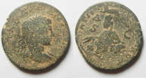 Ancient Coins - Elagabalus, Syria, Seleucia and Pieria, Antioch Æ 30